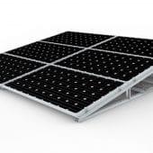 Zonnepanelen montage zonneschans energieperspectief
